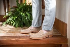 ae1571ebbc2 SEA ISLAND SUEDE LOAFER by ALLEN EDMONDS Made with the finest suede in the  world from Charles F. Stead