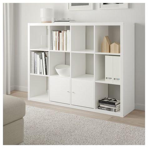 IKEA KALLAX Shelving unit White