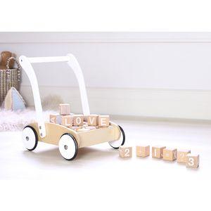 Toni Toy Box On Wheels