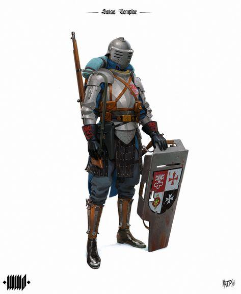 ArtStation - Swiss Templar, Andrius Matijosius