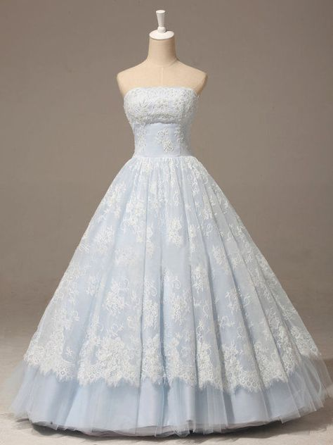 Baby Blue Prom Dress Strapless A-line Lace Applique Quinceañera Dress In - Baby Blue Prom Dress Strapless A-line Lace Applique Quinceañera Dress in Source by - Baby Blue Prom Dresses, Deb Dresses, Strapless Prom Dresses, Princess Prom Dresses, Princess Ball Gowns, Cute Prom Dresses, Quince Dresses, Ball Gown Dresses, Quinceanera Dresses