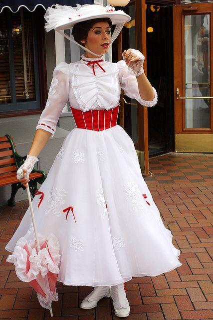 Mary Poppins Dress Victorian Lady dress