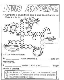 Projeto Meio Ambiente Educacao Infantil Atividades Meio Ambiente