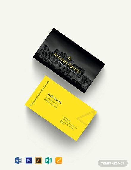 Commercial Property Management Business Card Template Word Doc Psd Apple Mac Pages Illustrator Publisher Business Card Template Word Business Card Template Design Make Business Cards