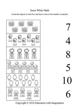 Snow White Worksheets With Images Worksheets Kindergarten