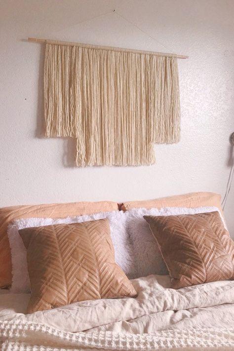 Wall Hanging Headboard Alternative