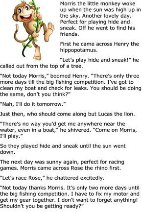 Free Childrens Moral Story-1   kids   Moral stories, Stories for