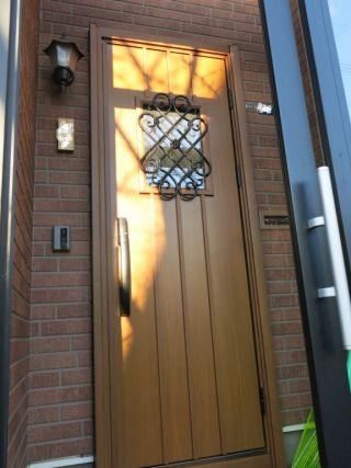 断熱リフォーム玄関ドア工事 Ykkapドアリモ 札幌市 k様邸 総建装 玄関ドア ドアリフォーム 玄関