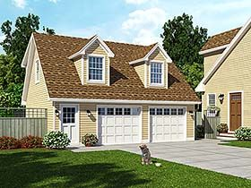 Victorian Style House Plan 65566 With 1 Bed 1 Bath Courtyard House Plans Mediterranean Style House Plans Garage Apartment Plan