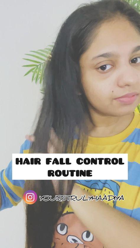 Anti Hair Fall Routine