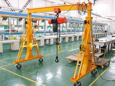 Small Mobile Gantry Crane Gantry Crane Cranes For Sale Crane Light
