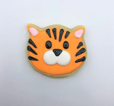 Tiger Decorated Sugar Cookie – Southern Home Bakery