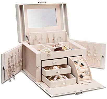 11++ Vlando faux leather jewelry box organizer ideas