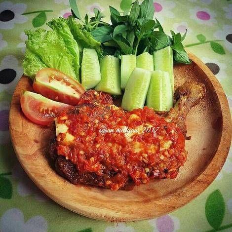 Resep Ayam Penyet Sambal Bawang Oleh Susan Mellyani Resep Resep Ayam Resep Masakan Resep Masakan Indonesia