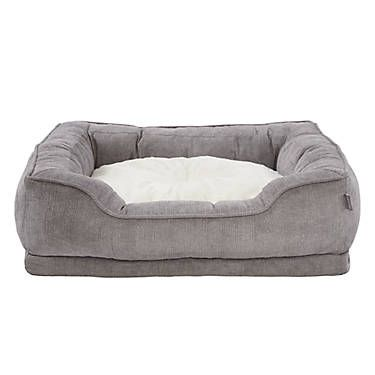 Top Paw Orthopedic Premium Support Square Lounger Pet Bed Pet Bed Dog Pillow Bed Dog Pet Beds