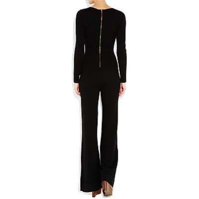 Black cashmere jumpsuit
