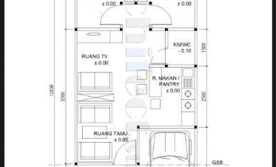Minimalis Desain Rumah Minimalis Ukuran 5x12 1 Lantai 95 Di Ide Merombak Rumah Kecil Dengan Desain Rumah Minimalis Ukuran 5x Di 2020 Rumah Minimalis Desain Rumah Rumah