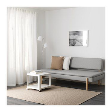 Prime 3 Seat Sofa Bed Ypperlig Ramna Light Grey Garden Room Gmtry Best Dining Table And Chair Ideas Images Gmtryco