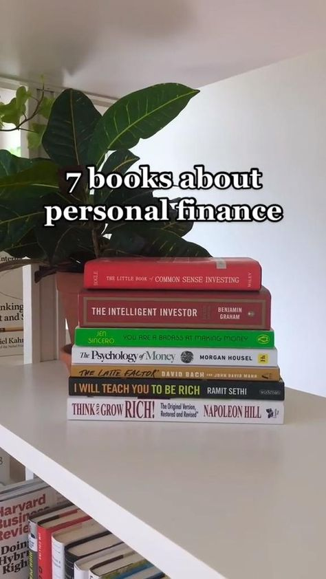 Books on personal finance
