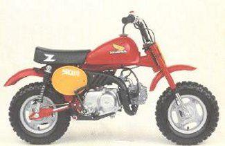 1983 Honda Z50r Honda Mini Bike Electrical Wiring Diagram