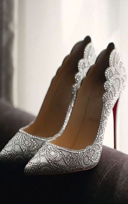 61 Trendy Wedding Shoes Christian Louboutin In 2020 Wedding Heels Bridal Shoes Wedding Shoes Comfortable