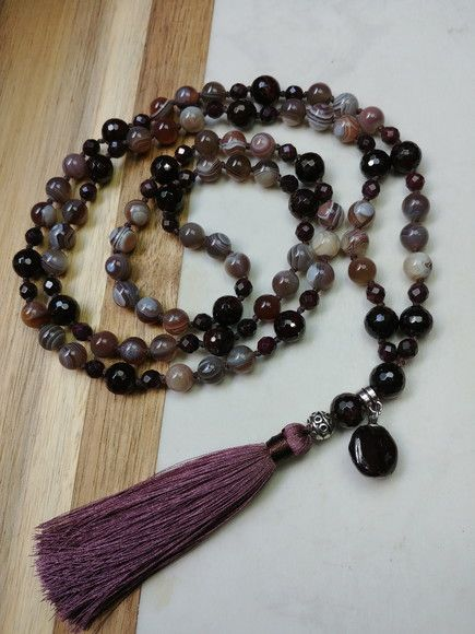 Lux Accessories Boho Brown Suede Braided Feather Marble Bead KeyChain Bag Charm