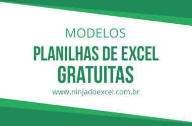 Modelos De Planilhas Gratis Planilhas Tudo Sobre Excel