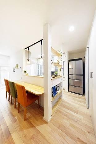 キッチン 横 壁 の画像検索結果 リフォーム 壁 キッチン