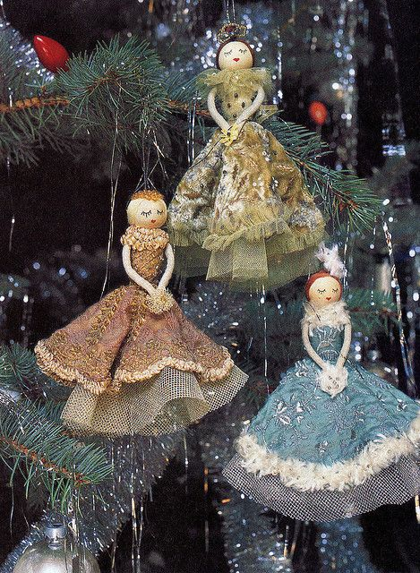 Christmas dollies from anthropologie