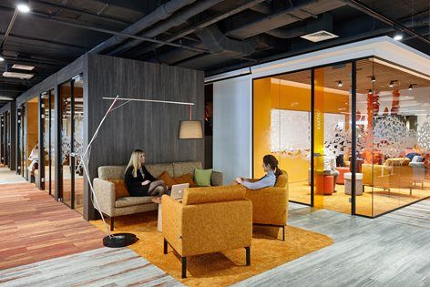 Sberbank Activity Based Working Evolution Design Open Space Office Office Space Office Interior Design