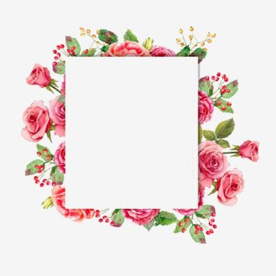 Pin By ظل الكلام On إطار In 2021 Flower Frame Sign Art Flower Painting