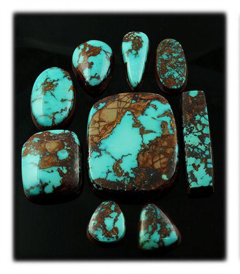 Turquoise Pendant Native American Pilot Mtn