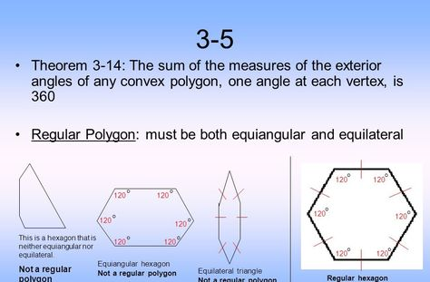 Pin By Lewoz On Teori Regular Polygon Theorems Exterior Angles