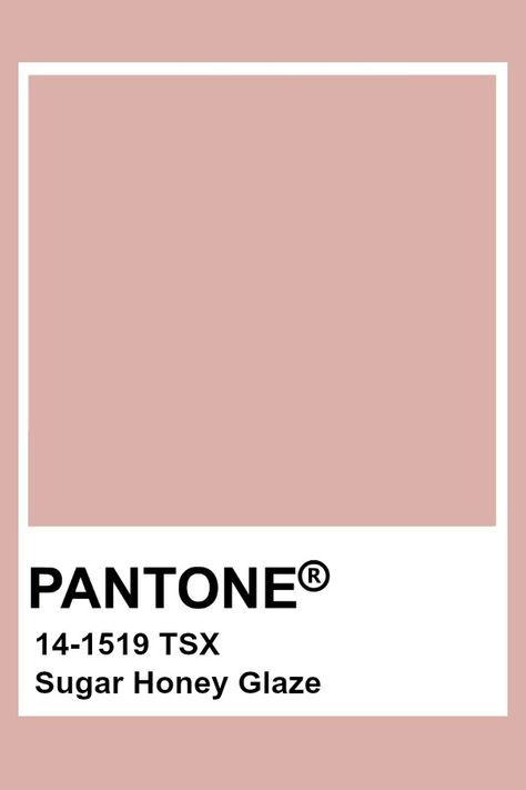 Pantone Sugar Honey Glaze