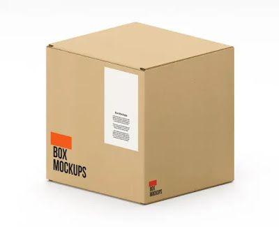 تحميل موك أب صناديق كرتون Box Carton Mockup هارد المصمم العملاق Box Mockup Mockup Template Mockup