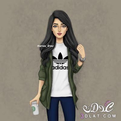 بنات موزز 2019 اجمل بنات كيوت 3dlat Net 27 17 6894 Girly M Cute Girl Drawing Digital Art Girl