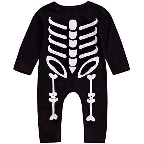 57495e7c5225 Willsa Newborn Baby Clothes Comfortable Halloween Toddler Long ...