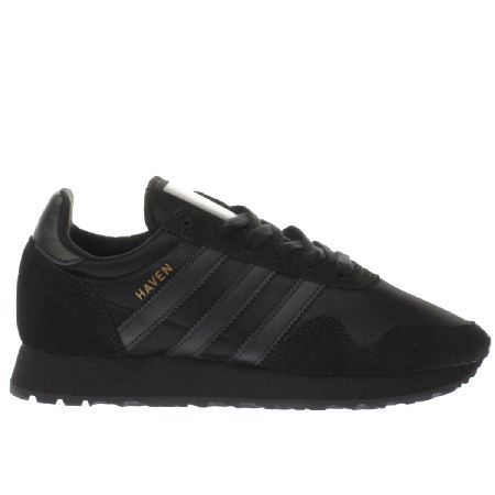 adidas black trainers boys catalogue