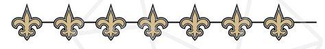 New Orleans Saints Football SVG PNG bundle/ Repeat pattern cricut silhouette clipart- 9 designs!