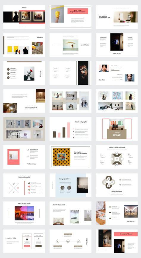 Art Gallery PowerPoint Template