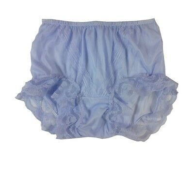 2ee2debb091 Vintage style Burlesque Panty Silky Nylon Tricot Sissy Briefs Panties  Knickers