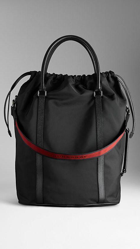 Burberry Brit  Mini Susanna  Canvas Check Crossbody Bucket Bag available at   Nordstrom  47156a88dd32c