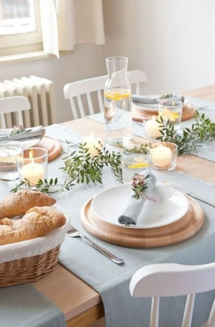 23 Ideas Breakfast Table Decorations Brunches Food Food