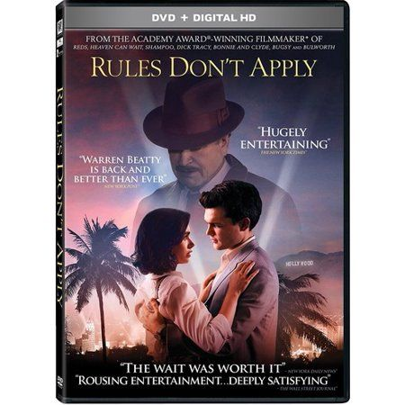 Rules Don T Apply Dvd Walmart Com How To Apply Dvd We Movie
