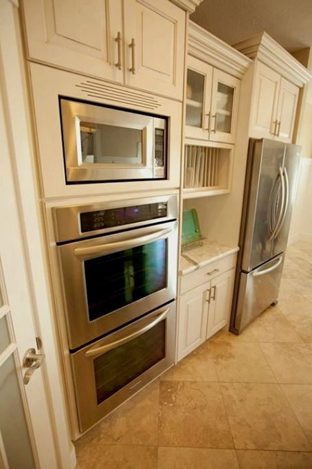 Kitchen Remodel Ideas A Very Good Way To Develop Your Design Eye Would Be To Watch Tv Specifica Kitchen Layout Inspiration Double Oven Kitchen Kitchen Layout
