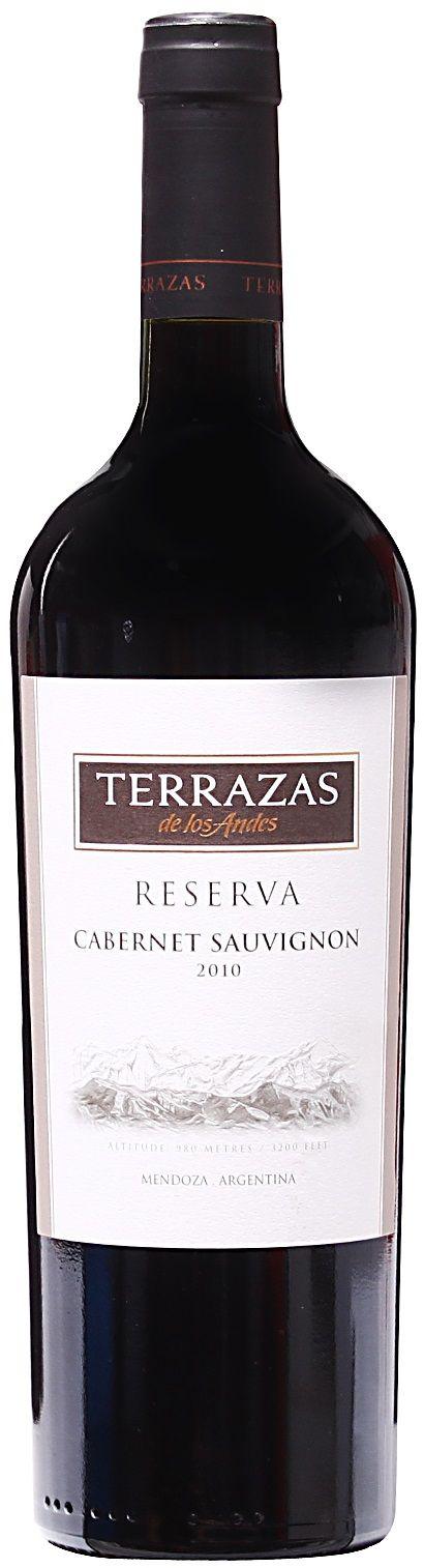 Reserva Cabernet Sauvignon 2013 Bodega Terrazas De Los Andes Lujan De Cuyo Mendoza Terroir Perdriel Vinos Cabernet Sauvignon Sauvignon