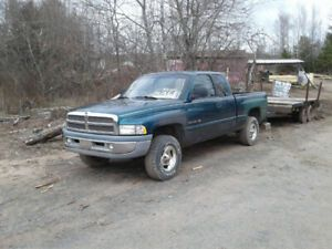 1999 Dodge Power Ram 1500 Pickup Truck Trucks For Sale Old Dodge Trucks Pickup Trucks