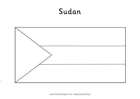 Coloring Flag Pages Sudan 2020 My Best Coloring Pages Flag