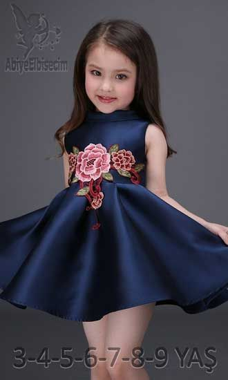 Kiz Cocuk Abiye Elbise Cicek Desenli Cocuk Elbise Modelleri Bebek Elbise Kiz Cocuk Elbise The Dress Kadin Elbiseleri Aksamustu Giysileri