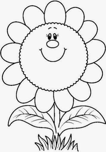 Descargar Primero A Vuestro Ordenador Para Que El Dibujo A Colorear Salga Con Hojas Para Colorear De Ninos Dibujos Para Colorear Primavera Hojas Para Colorear